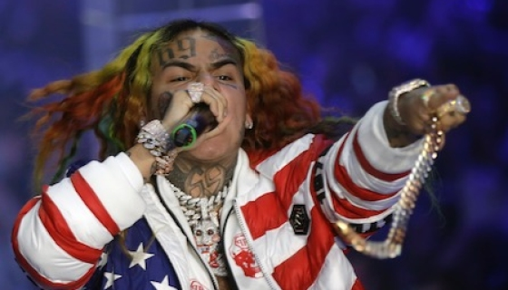 Rapper Tekashi 6ix9ine Names Jim Jones, Cardi B As Gang Members In Trial