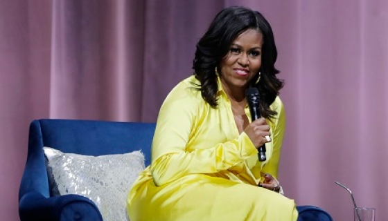 Michelle Obama Named 'Most Admired' Woman In The World