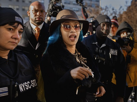 Judge Issues Orders Of Protection In Cardi B Case