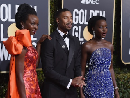 Stars Returned To Color At The Golden Globes
