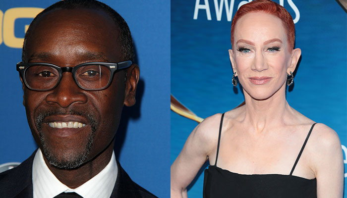 Don Cheadle Reminds Kathy Griffin They Were Never 'Friends' After She Wages Twitter War