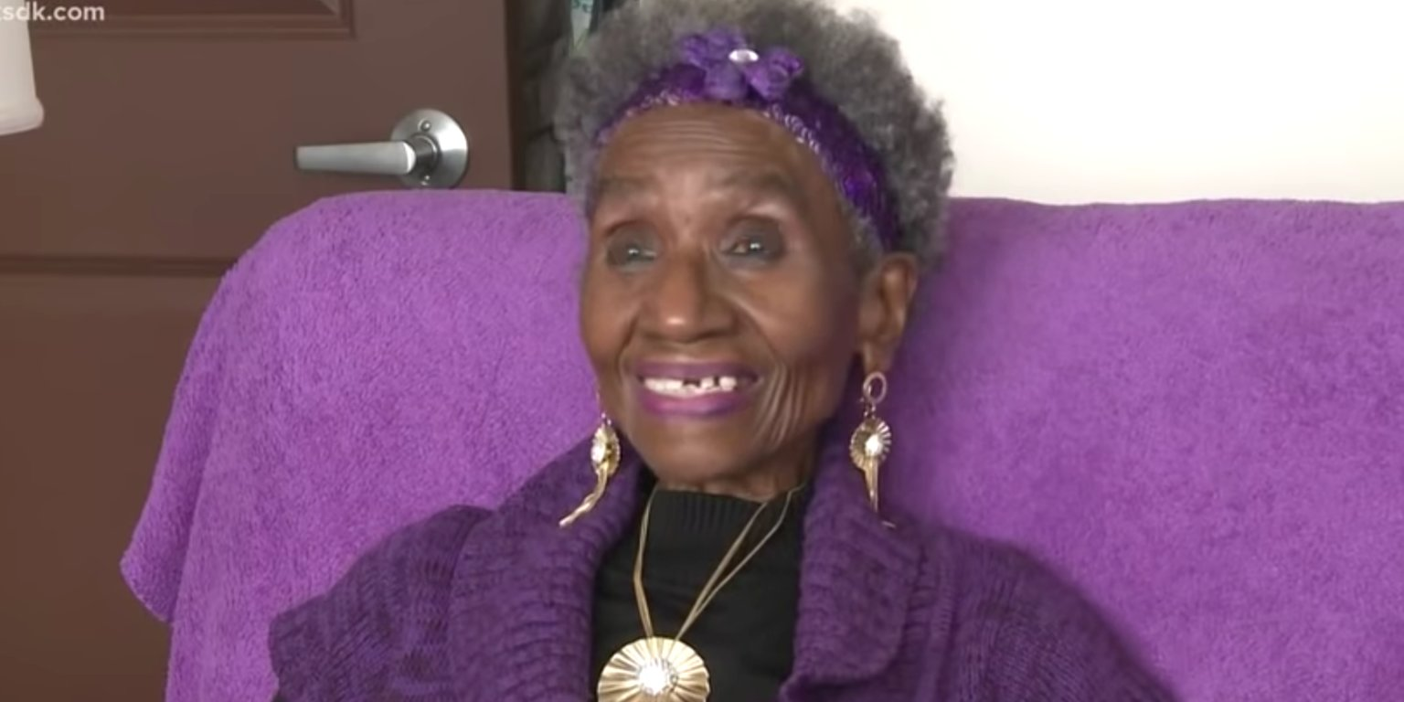 No Excuses! 85-Year Old St. Louis Woman Walks Off Over 100 Pounds In Her Living Room
