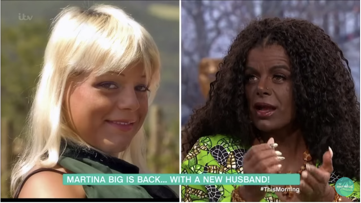 Ma'am? 'Transracial' German Model Says Her Kids With White Husband Will Be Black [WATCH]