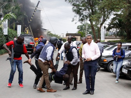 At Least 15 Dead In Nairobi Hotel Terrorist Attack; Al-Shahab Claims Responsibility