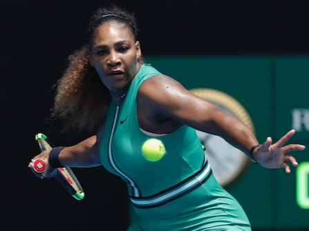 Serena Williams Returns To Australian Open With Emphatic Win