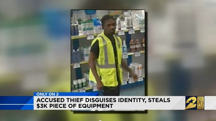 Man Uses Stolen Credit Card To Buy $3K Piece Of Pool Equipment