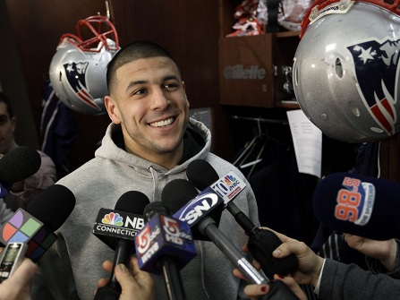 Judge Limits Ability Of Aaron Hernandez's Child To Sue NFL