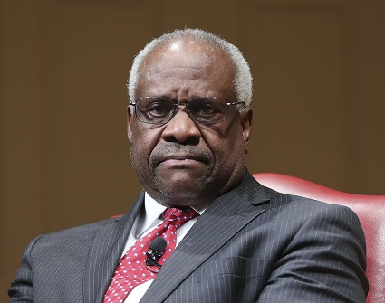Justice Thomas Talks At Court Arguments, 1st Time In 3 Years
