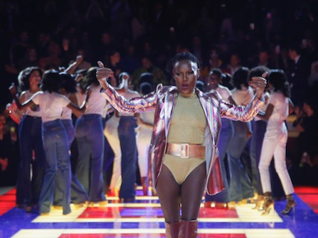 Grace Jones Gets Standing Ovation At Paris Fashion Week