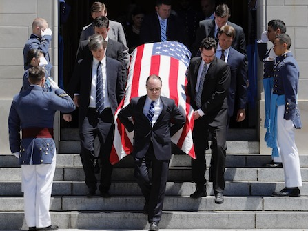 Emotional Eulogies Highlight Funeral Of SC's Fritz Hollings