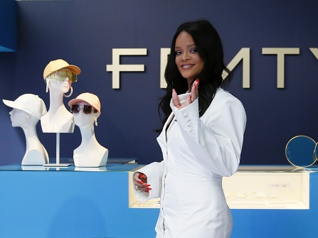 Rihanna Launches Brand Fenty In Paris Store