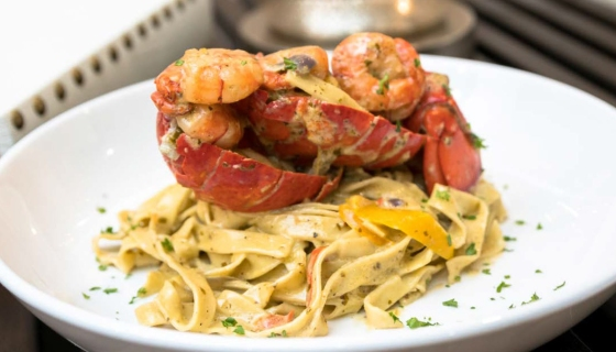 Chef Tobias Dorzon's Shrimp & Lobster Pasta [RECIPE]