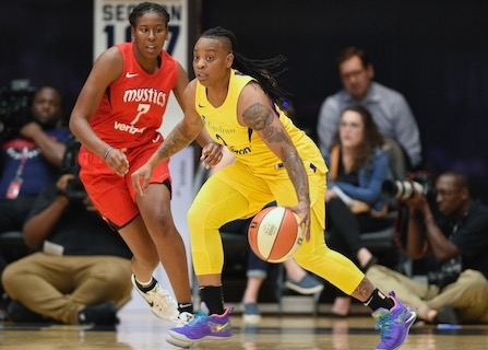 WNBA Suspends Riquna Williams 10 Games For Domestic Violence