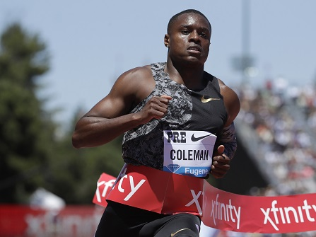 Sprint Star Christian Coleman Could Face Ban