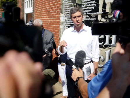O'Rourke Visits Sites Of Historic Racist Attacks: US Still Divided