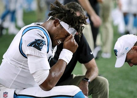 Panthers Optimistic Cam Newton Will Be Ready For Opener