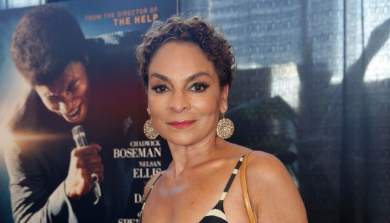 Jasmine Guy Rocks 'Beautiful' Leather Coat Painted By Her Daughter – Look!