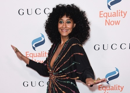 Tracee Ellis Ross Reunites With 'Girlfriends' On 'black-ish'
