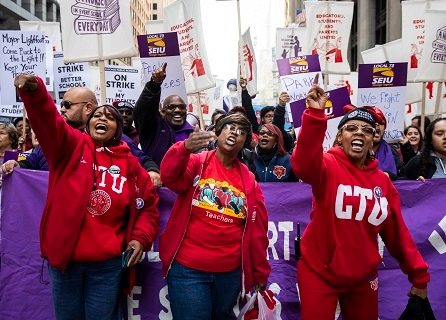 Classes Canceled As Threat Of Chicago Teacher Strike Looms