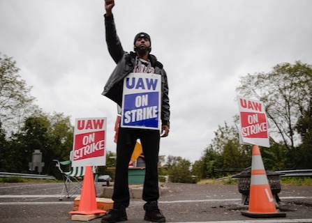 Striking GM Workers Celebrate Strength Of Unions With New Contract