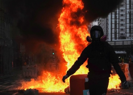 Protests Escalate Again In Hong Kong