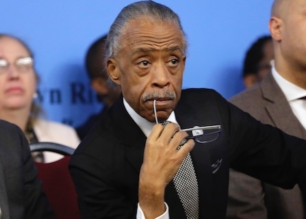 Rev. Al Sharpton Does His Best To Provide Comfort In Tragedy