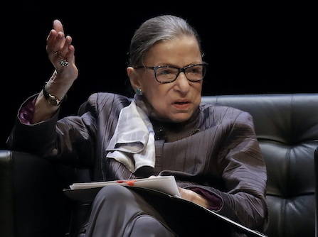 The World Pays Tribute To Supreme Court Justice Ruth Bader Ginsburg, Legal Trailblazer and Pop Icon