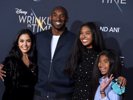 Kobe Bryant & Daughter, Killed In Helicopter Crash