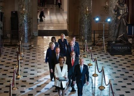 Trump's Impeachment Trial Begins With Senators Vowing 'Impartial Justice'