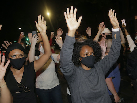 Peaceful Protesters Get Lost In Action-Packed Coverage